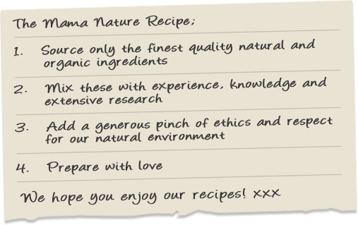 Mama Nature Recipe