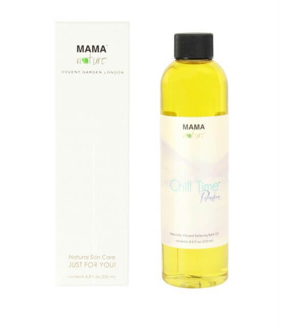 Chill Time Naturally Infused Relaxing Bath Oil
