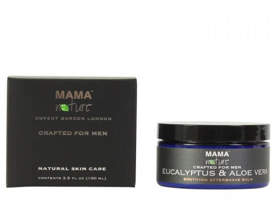 Men's Eucalyptus & Aloe Vera Natural Soothing Aftershave Balm