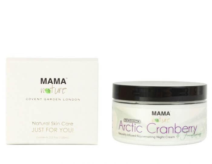 Arctic Cranberry & Frankincense Naturally Infused Rejuvenating Night Cream (AGE DEFENCE)