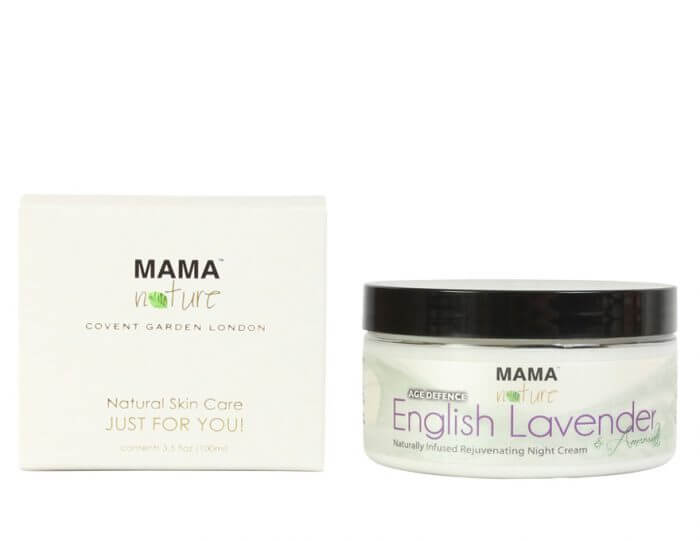 English lavender & Amaranth Naturally Infused Rejuvenating Night Cream (AGE DEFENCE)