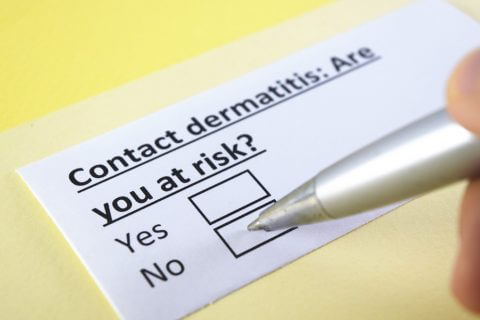 contact form for contact dermatitis